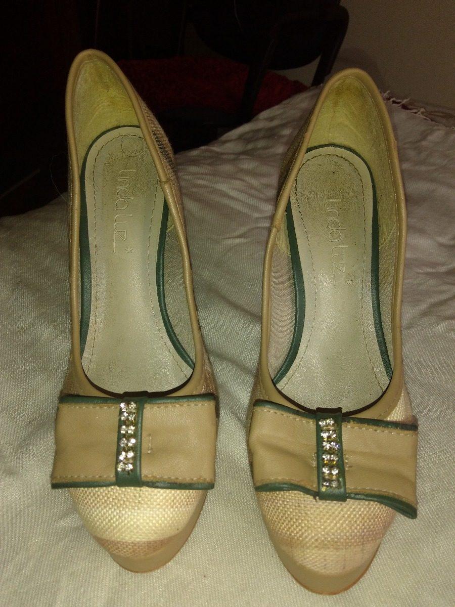 148426091 Sapato Scarpin Linda Luz, 35 - R$ 60,00 em Mercado Livre