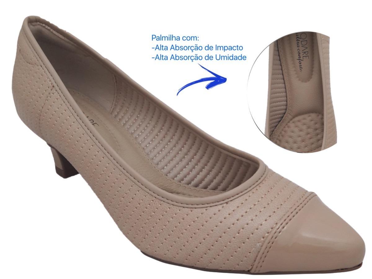 630542101b sapato scarpin linha conforto modare 7314.112. Carregando zoom.