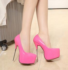 4b2a39f9ea Sapato Importado Salto Alto Fino - Sapatos com o Melhores Preços no ...