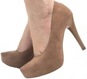 b5edc4daeb Scarpin Meia Pata Caramelo - Sapatos no Mercado Livre Brasil