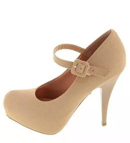 7640ffa48 Sapato Boneca Meia Pata Nude Vizzano - Sapatos com o Melhores Preços no  Mercado Livre Brasil