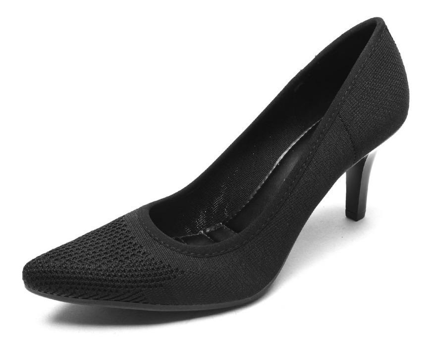 27b3b0b42 Sapato Scarpin Mississipi Preto 7531 - R$ 119,90 em Mercado Livre