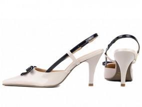 8f40136749 Sapato Lara Dourado Lacinho Pa Feminino Scarpins - Sapatos no ...