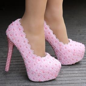 40b71c6f4 Sapato De Noiva Branco Com Renda - Sapatos com o Melhores Preços no Mercado  Livre Brasil