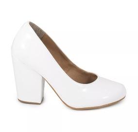 eb25030bb Scarpin Branco Noiva Scarpins - Sapatos para Feminino com o Melhores Preços  no Mercado Livre Brasil
