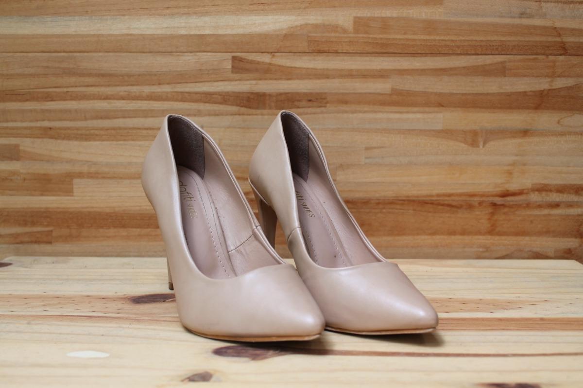8f8be8d79f Sapato Scarpin Nude Dafiti Shoes 36 Usado 1 Vez Salto 10cm - R  60 ...