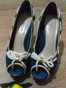 c4e11bd5d7 Sandalia Para Pés Gordos Feminino Scarpins - Sapatos, Usado com o ...