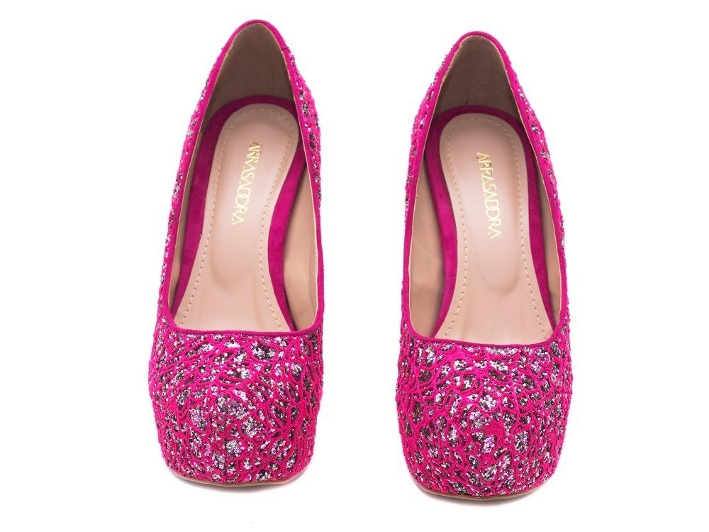 fc53a2f55e sapato scarpin peep toe rosa pink debutante 15 anos alto fin. Carregando  zoom.