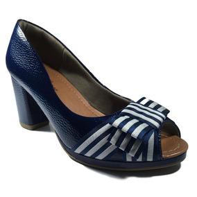 8a65c0858 Scarpin Varru Azul Marinho Usaflex - Sapatos com o Melhores Preços ...