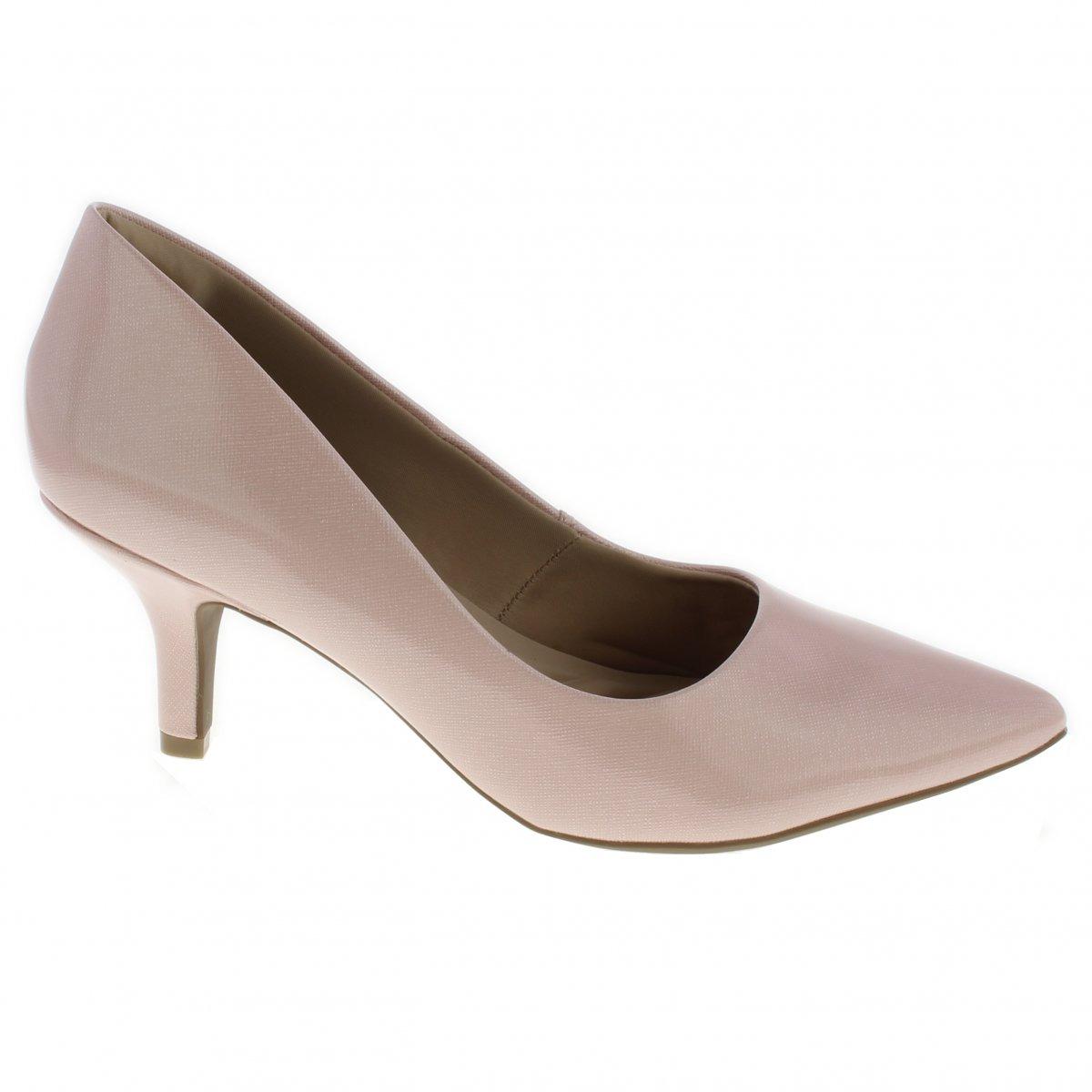f17d8767e Sapato Scarpin Ramarim Total Conforto Santo Baixo 1726201 - R$ 149 ...