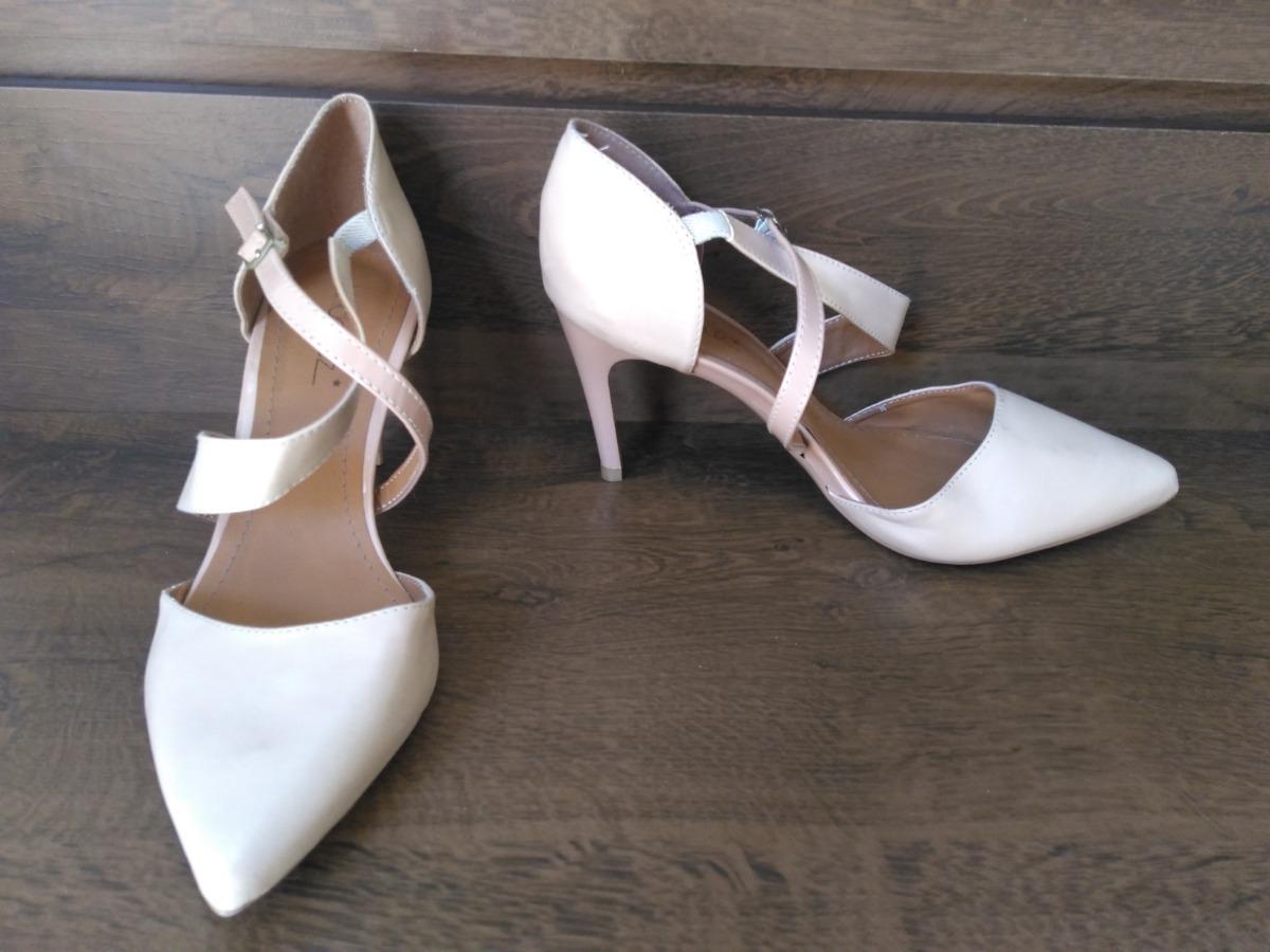 e9ef50d32 Sapato Scarpin Salto Alto Agulha Linda Luz - R$ 89,00 em Mercado Livre