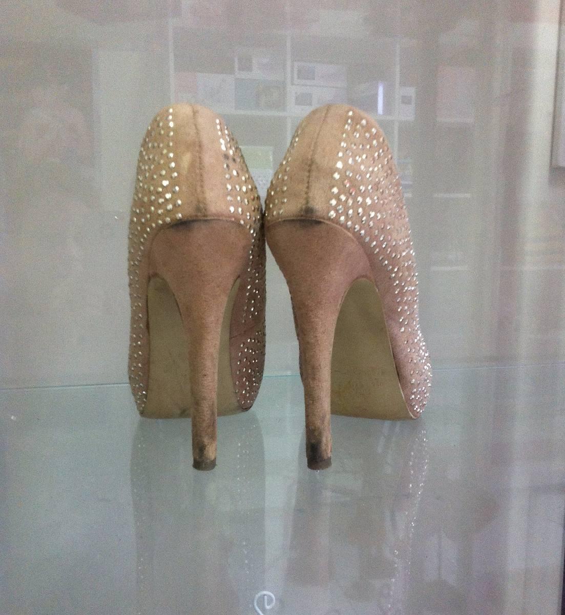 1671ed925 sapato scarpin salto alto calçado sandália milano lindo 34. Carregando zoom.