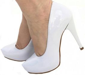 fbf3bd4dc Sapato De Noiva Nao Muito Alto - Sapatos com o Melhores Preços no Mercado  Livre Brasil