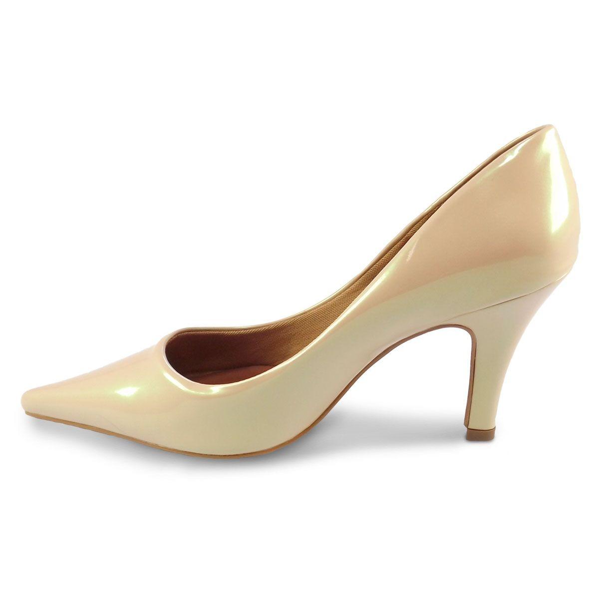 342de8876d sapato scarpin salto fino branco noiva casamento festa. Carregando zoom.