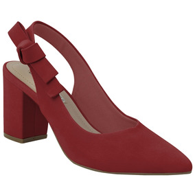 fc6a85521 Scarpin Via Marte Salto Baixo - Sapatos com o Melhores Preços no Mercado  Livre Brasil