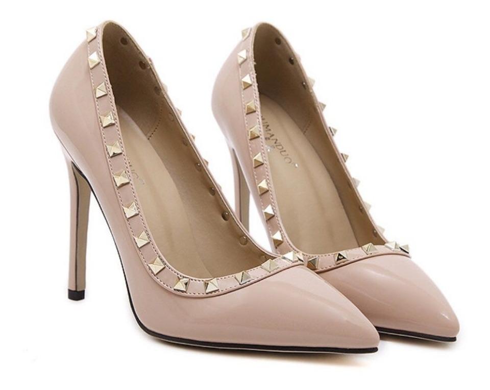 86bd82bb8 sapato scarpins feminina salto alto bico fino importado. Carregando zoom.