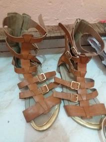 66ec6c510b Gladiadoras Via Marte - Sapatos no Mercado Livre Brasil