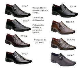 2487ba2a0 Revenda Sapato Social Atacado - Sapatos com o Melhores Preços no Mercado  Livre Brasil