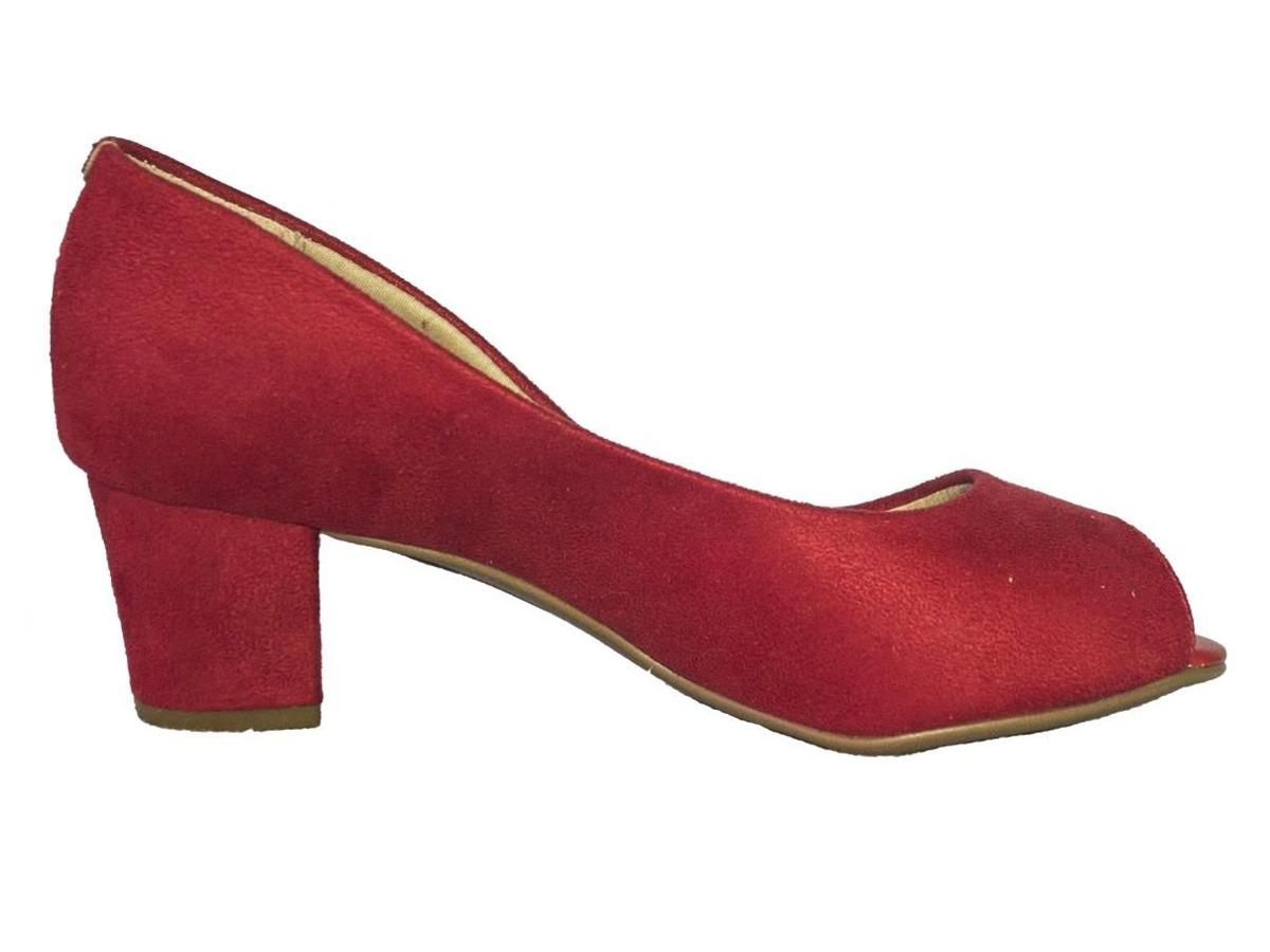 f83b50ab25 sapato social beira rio conforto vermelho - pronta entrega. Carregando zoom.