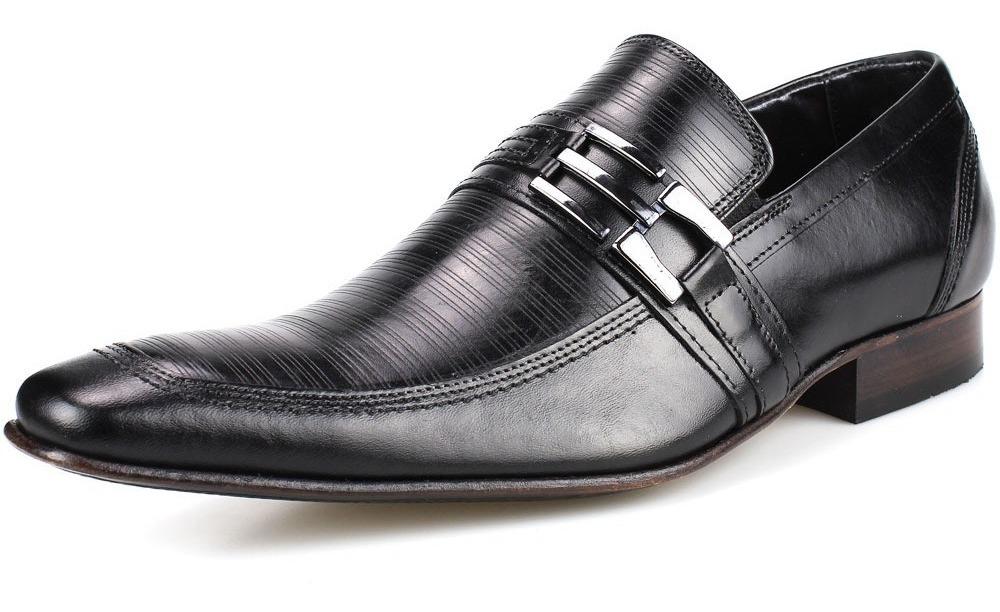 7cb652462 sapato social bigioni homem solado couro legítimo bico fino. Carregando  zoom.