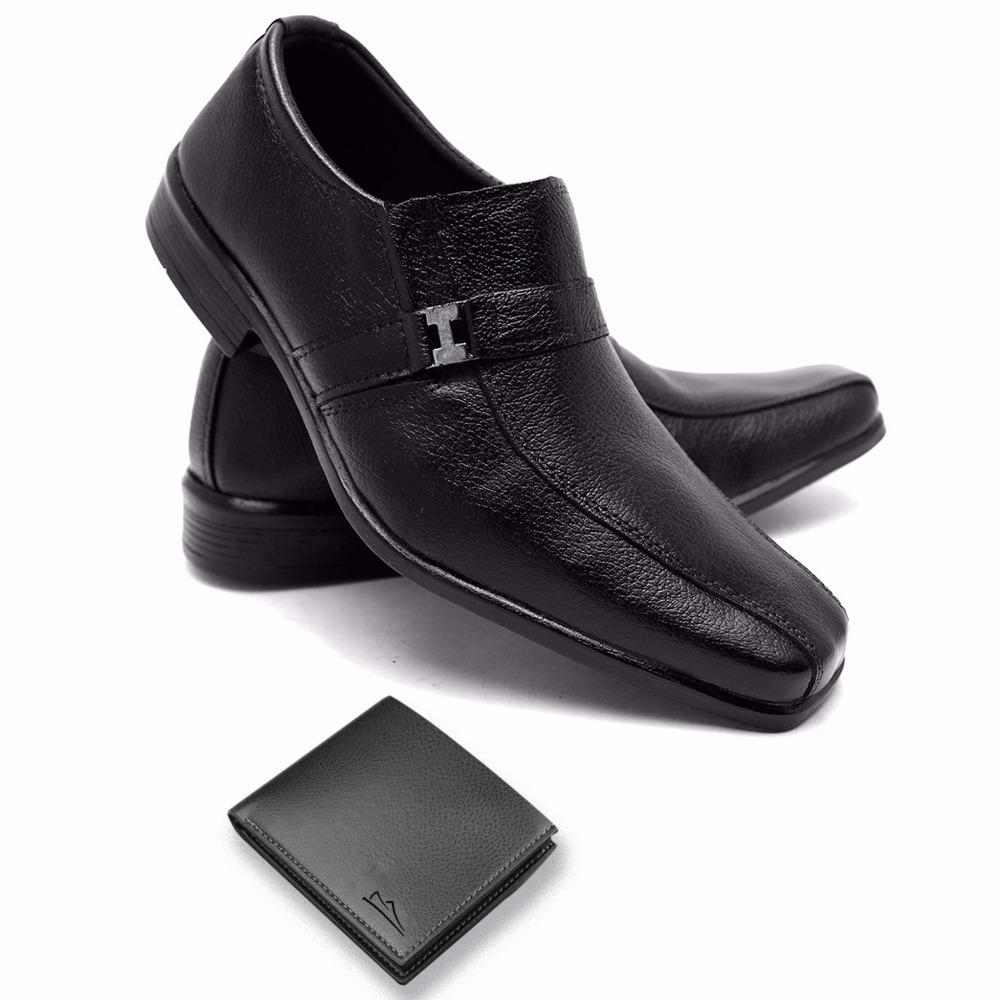 def677ae5 Sapato Social Bom E Barato Carteira Brinde - R$ 65,00 em Mercado Livre