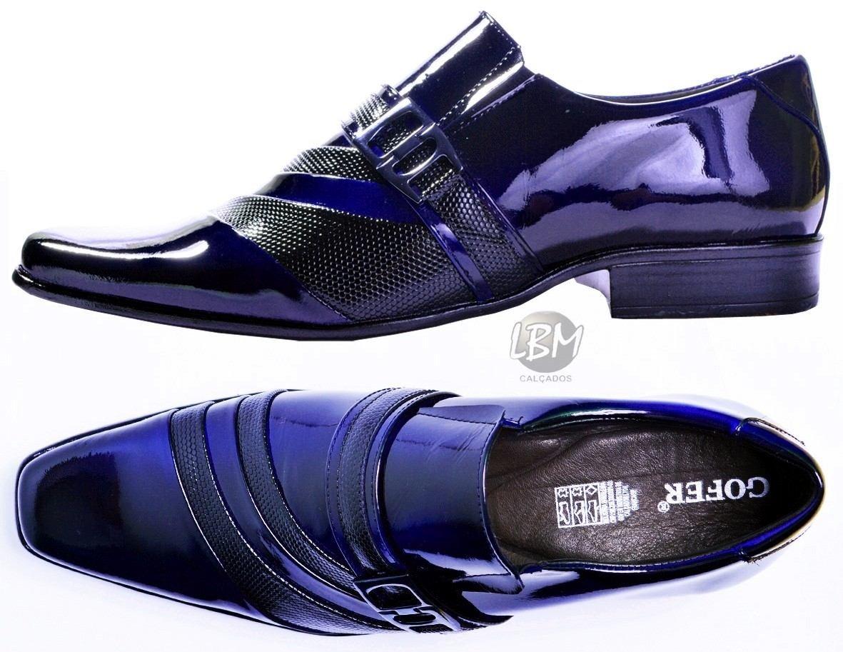 c52db508b Sapato Social Bom E Barato Em Couro Carteira Brinde - R$ 169,40 em ...