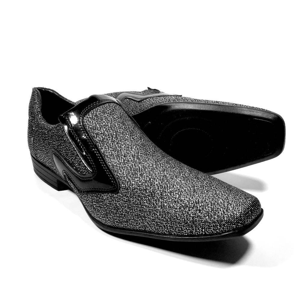 163647e1b sapato social brilhoso masculino super barato bico fino. Carregando zoom.