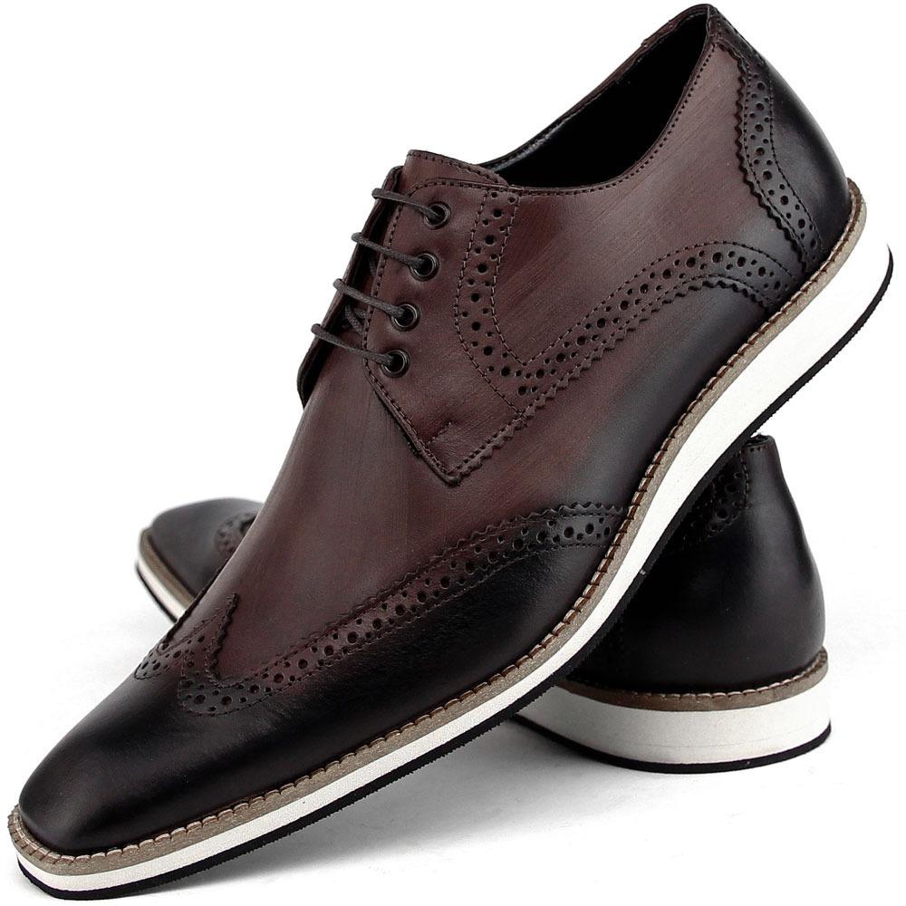 0089e320a sapato social casual masculino oxford estilo inglês dhl fran. Carregando  zoom.