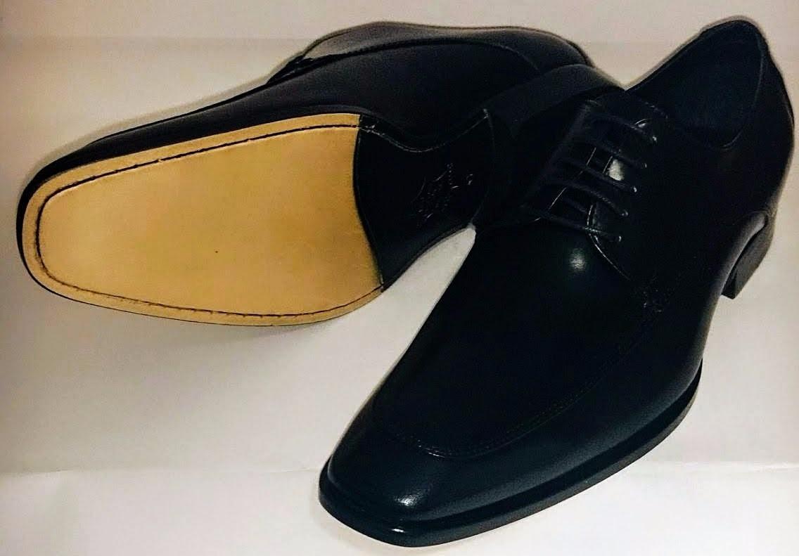 Sapato Social Clássico Derby Linha Premium Artesanal Preto - R  299 ... e7515e4eb2b33