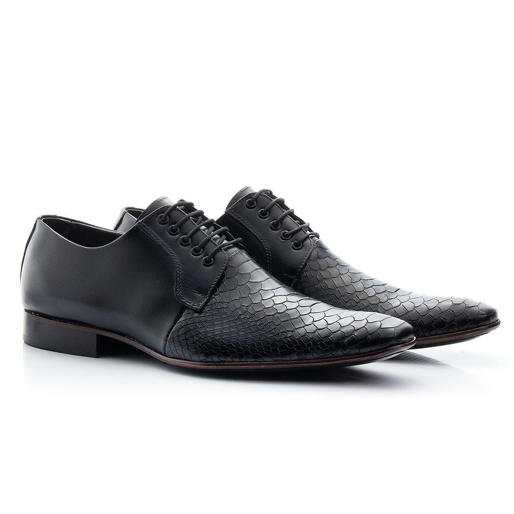 7275fb1802 sapato social clássico masculino - ref 306 - preto. Carregando zoom.
