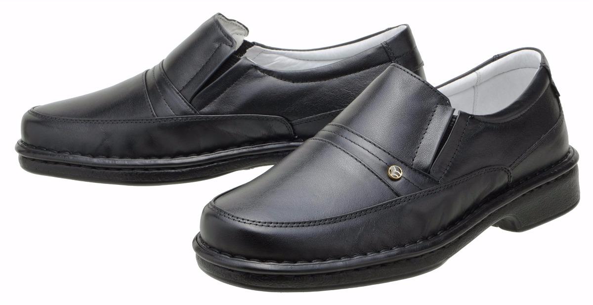 543d477fbe sapato social conforto masculino couro legítimo preto 1003. Carregando zoom.