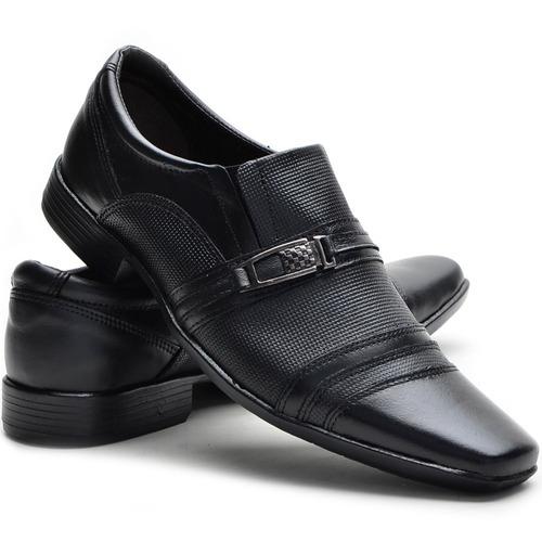 sapato social couro 2 pares + 3 meias + carteira + cinto
