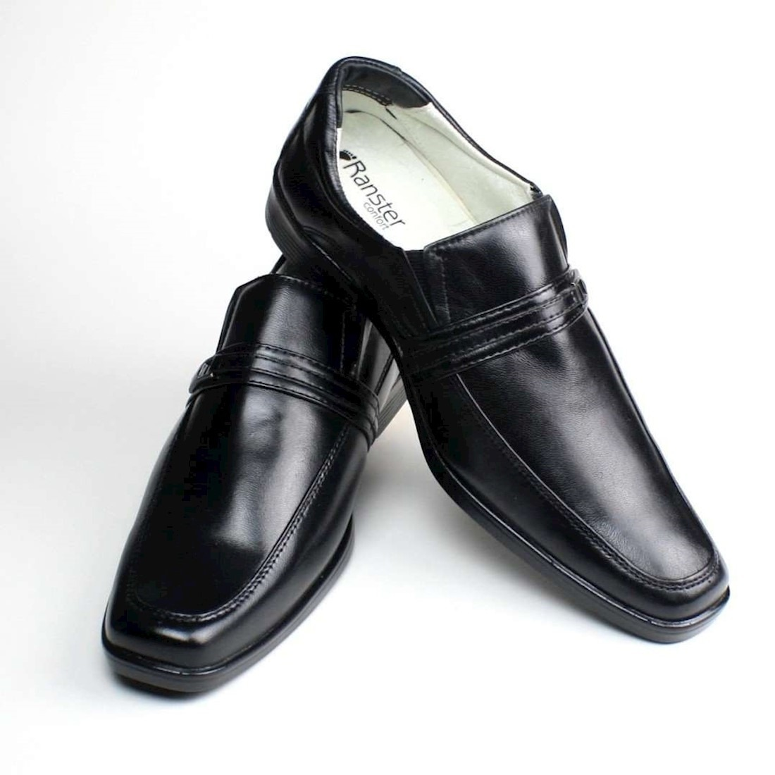 6486de0e1 sapato social couro anti stress confort. Carregando zoom.