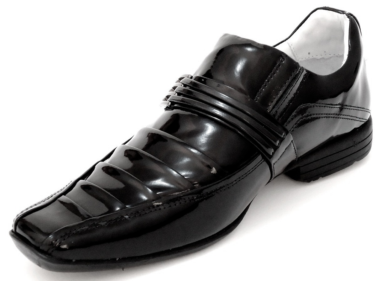 eff04dd466 sapato social couro envernizado homem dhl calçados franca sp. Carregando  zoom.