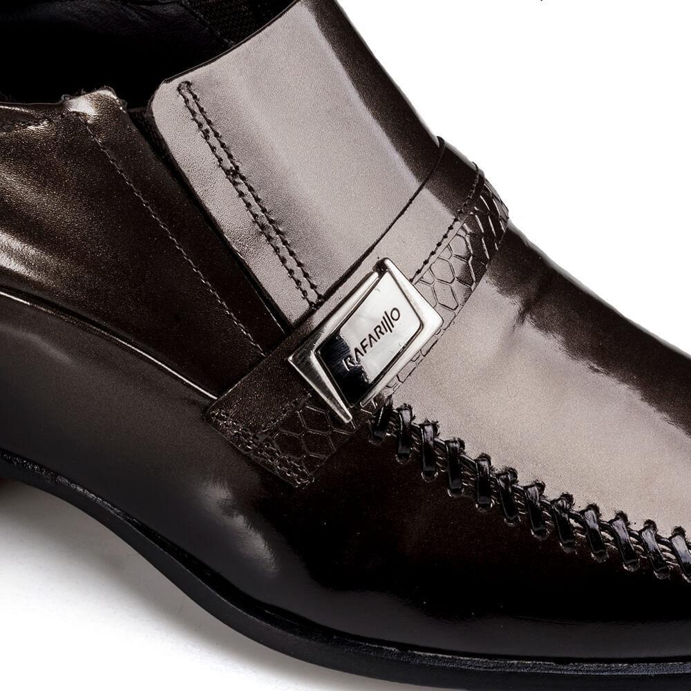 ccf674c9b2 sapato social couro masculino rafarillo vegas alth topazio. Carregando zoom.