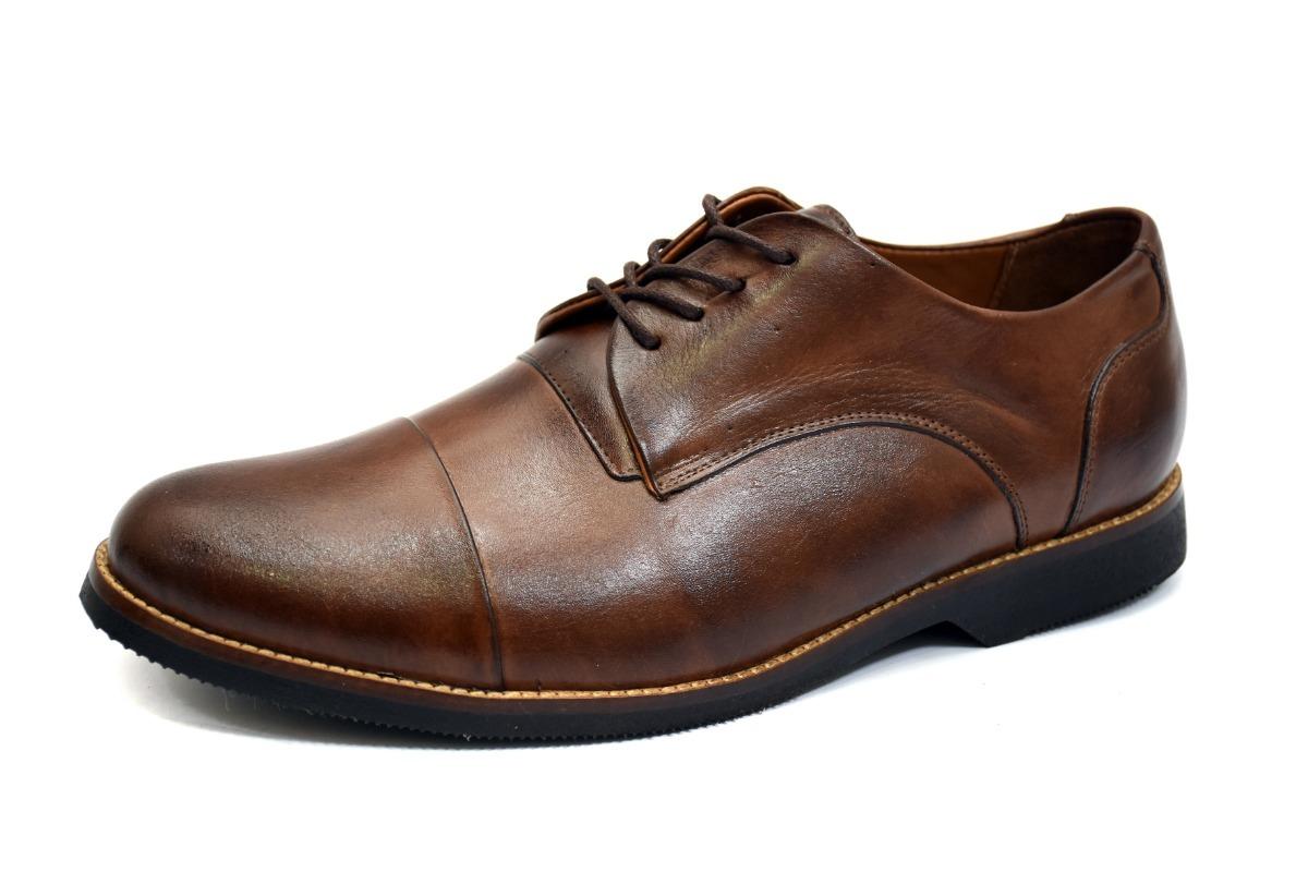 97248930e16 Sapato Social Couro Nobre Tamanhos Especiais 35 Ao 50 Couro - R  209 ...