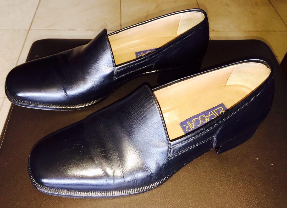 4a2cb8469 Sapato Social Couro Parece Cromo Alemão Preto Fascar - R$ 250,00 em ...