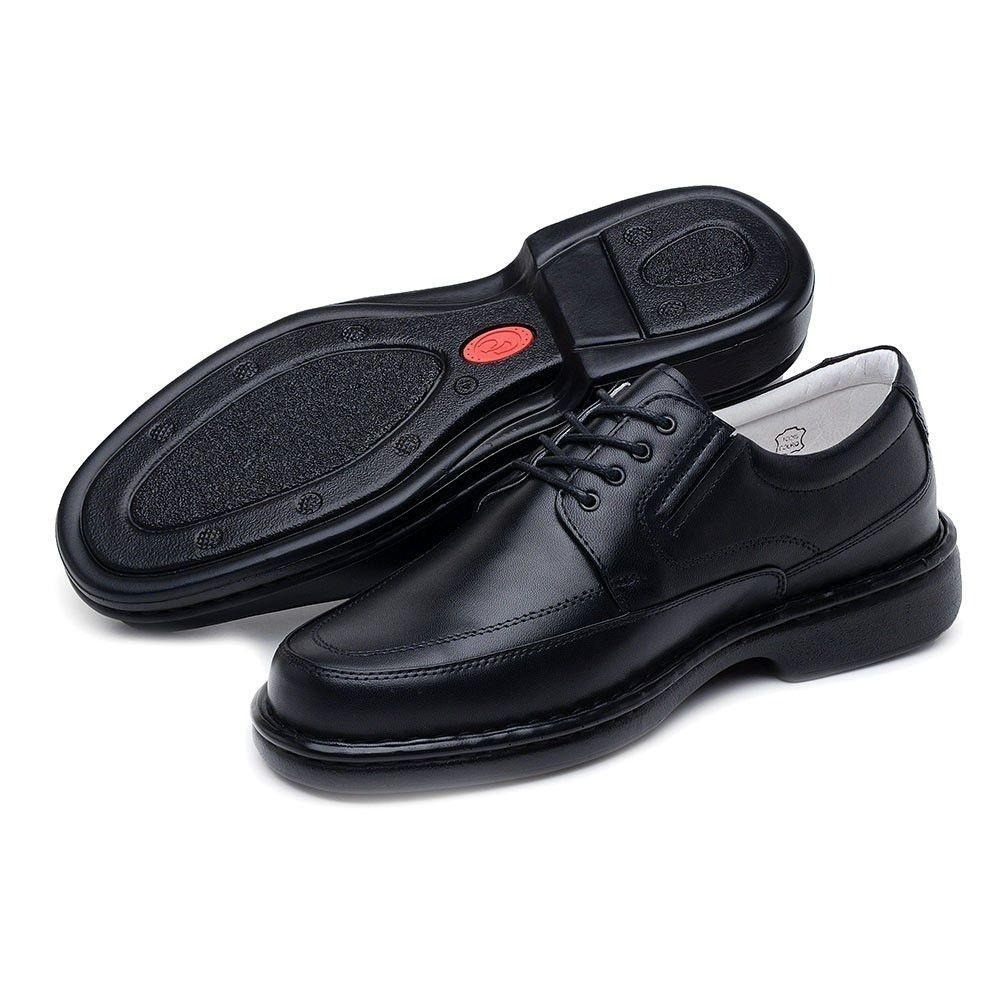7c0cfcfd7 Sapato Social Couro Pelica Ortopedico Antistress Palmilh Gel - R ...