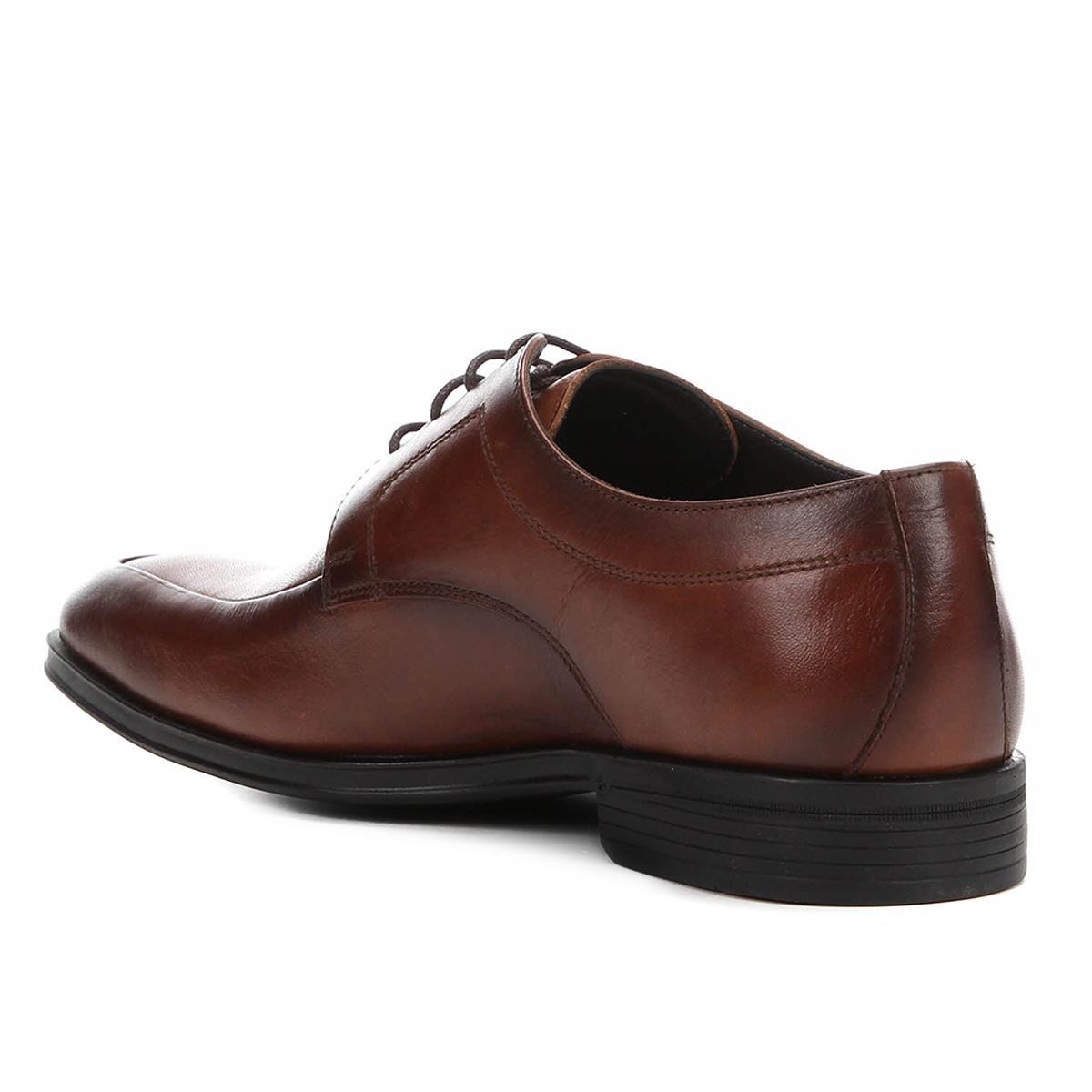 ae7836dbf5 sapato social couro shoestock cadarço masculino. Carregando zoom.