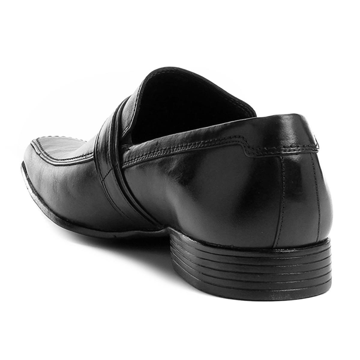 399546df40 sapato social couro shoestock fivela masculino. Carregando zoom.