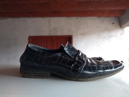 sapato social couro sintético