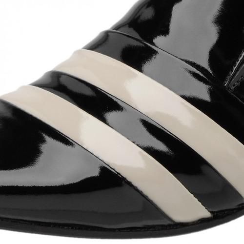sapato social couro verniz promoção outlet dhl calçados