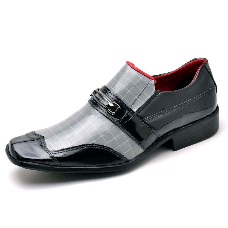 0cffd70ffa sapato social couro verniz tamanhos grandes 45 46 47 48. Carregando zoom.