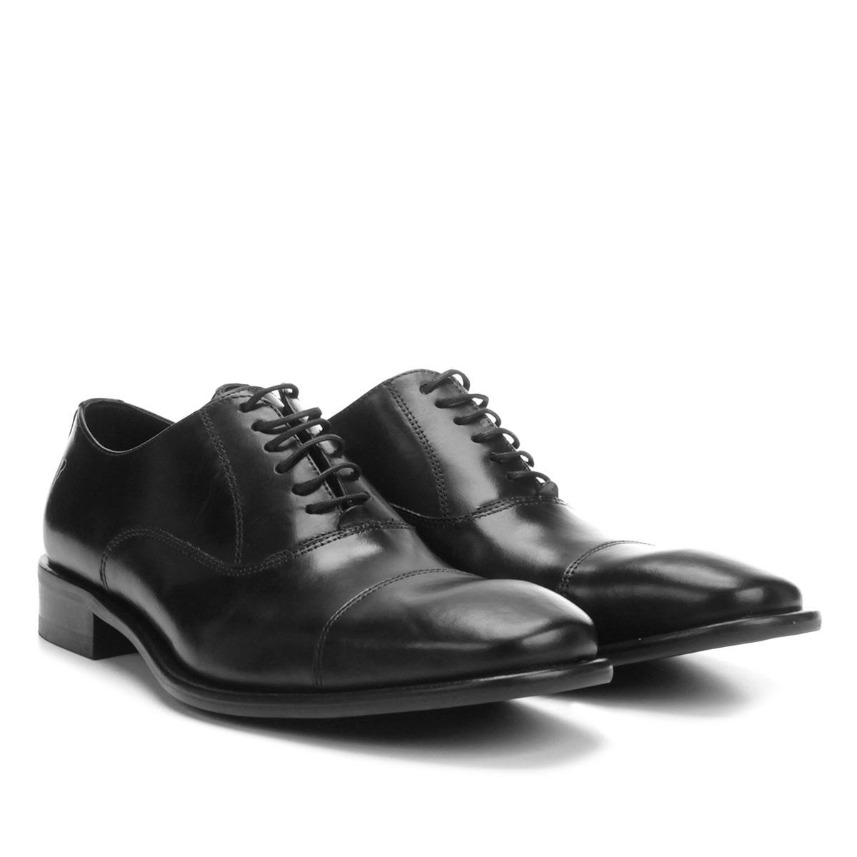 5b945a2879 sapato social couro vr oxford biqueira. Carregando zoom.