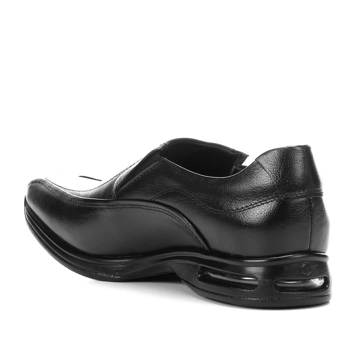 75fc2b2769 sapato social democrata smart comfort air spot masculino. Carregando zoom.