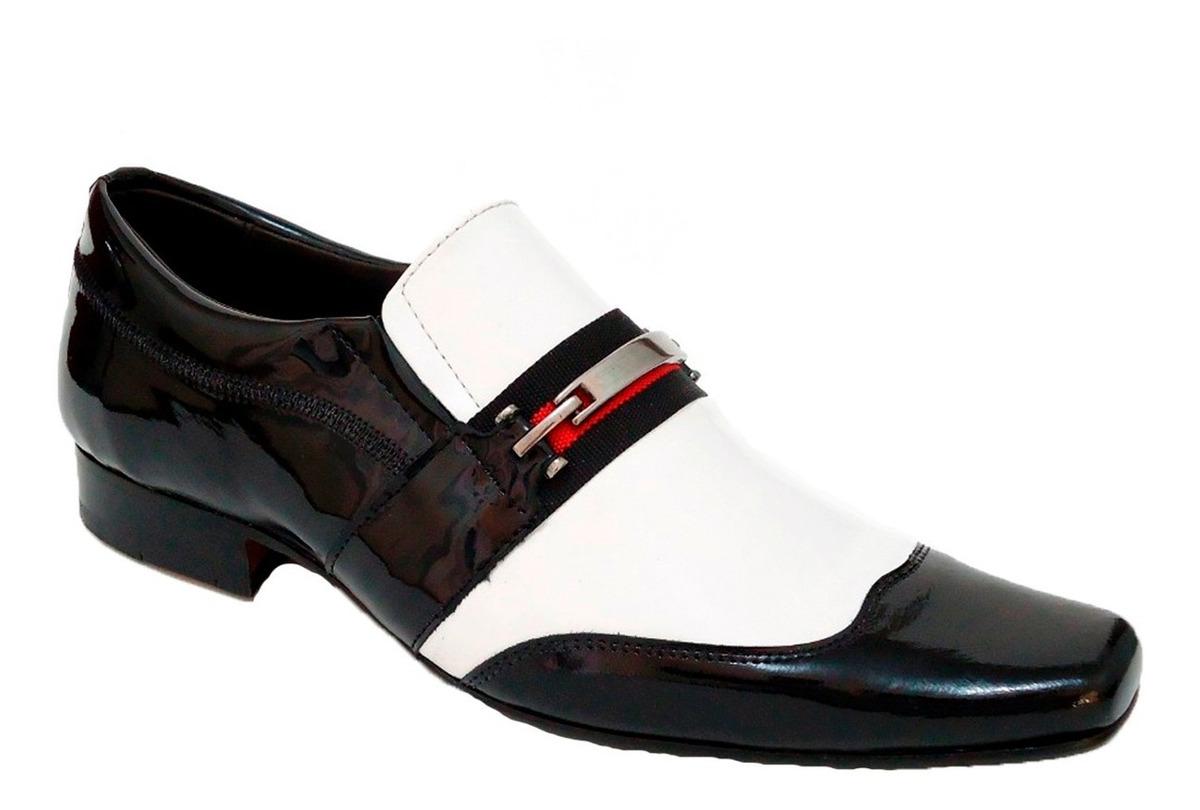 78e1dc1419 sapato social elegância estilo envernizado franca-sp dhl !!! Carregando zoom .