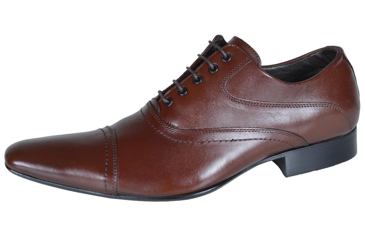 0d2aedc34 Sapato Social Em Couro Bico Fino Paulo Vieira - R$ 184,99 em Mercado ...