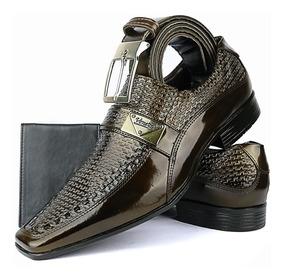 053c42507 Sapato Social Masculino Dourado - Sapatos com o Melhores Preços no Mercado  Livre Brasil