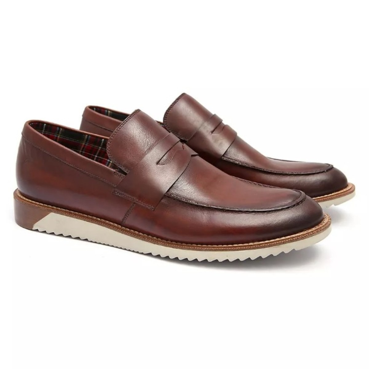0a98b17ad3 sapato social em couro masculino penny loafer weejun whisky. Carregando zoom .