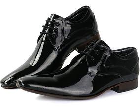 c55b142436854 Sapatofran Sapato Social Masculino Couro Verniz Super Luxo - Sapatos com o  Melhores Preços no Mercado Livre Brasil